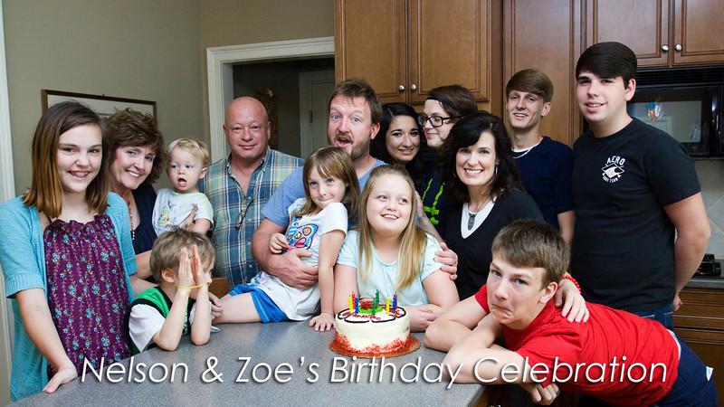 Birthday Celebration - Nelson & Zoe