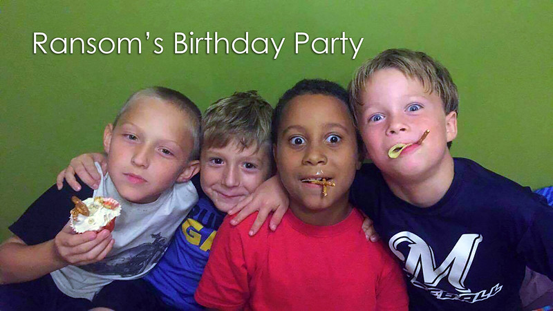 Ransom's 8th Birthday