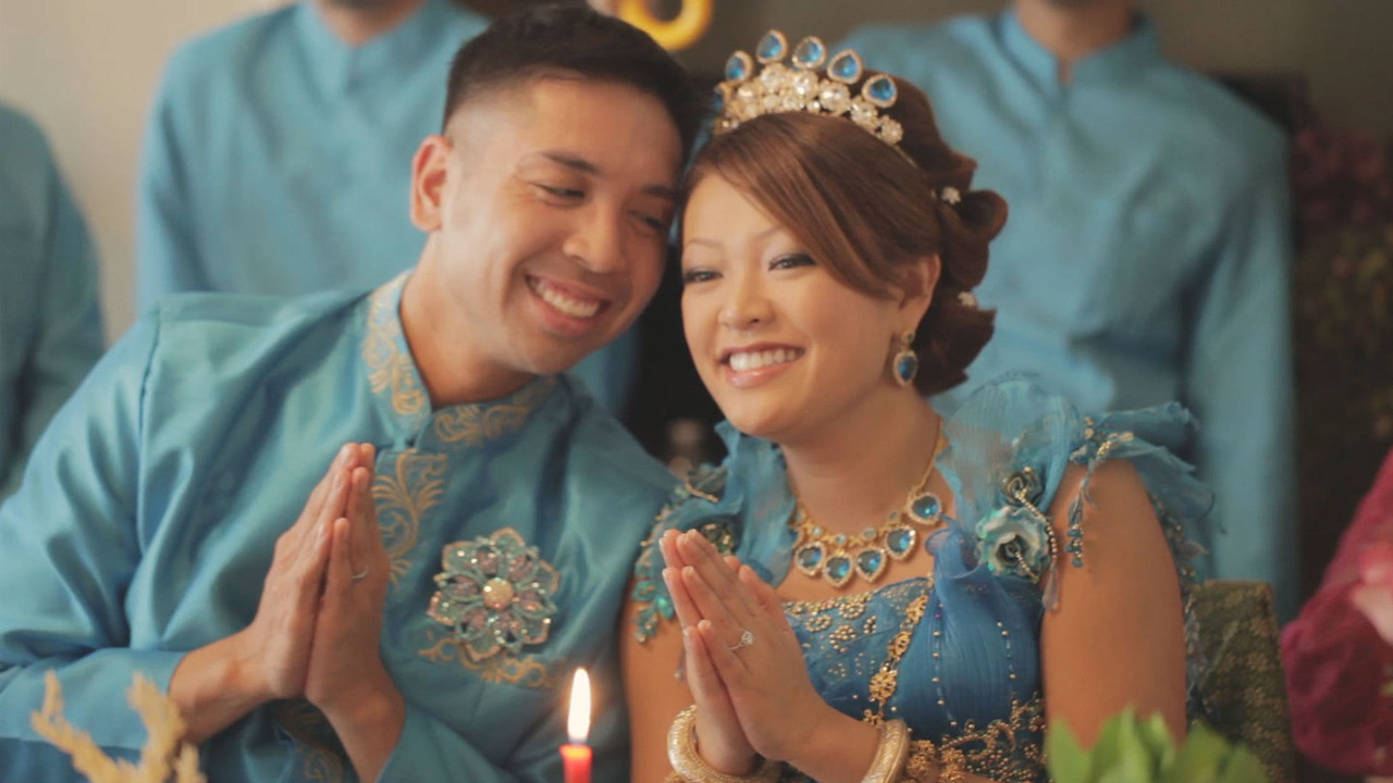 Boramee and Alvin's Cambodian wedding ceremony