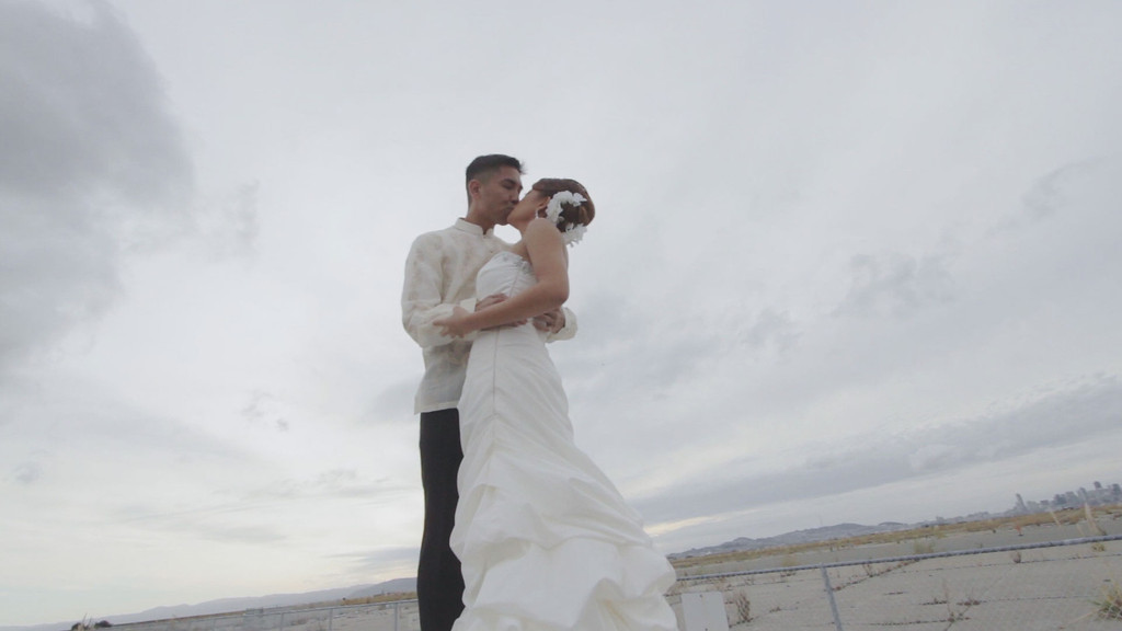 Boramee and Alvin's wedding day
