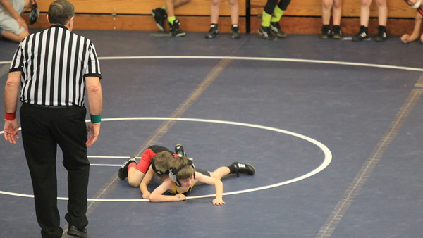 boys wrestle january 31, 2016