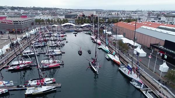 Team Malizia @ 2019 Transat Jacques Vabre - Le Havre Start Hardcuts 3