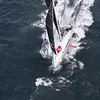 IMOCA 60 Malizia II - Offshore aerial footage - B-Roll