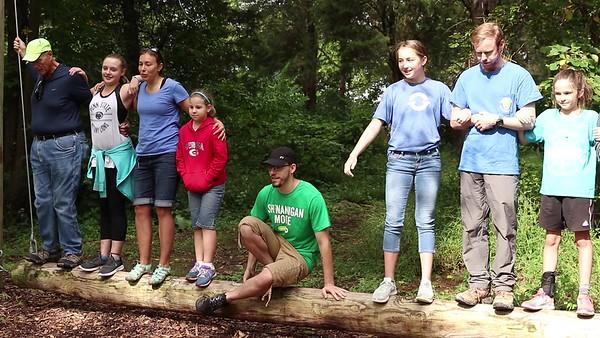 TSF Middle School Students at Cedar Ridge Adventures