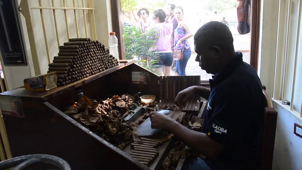 Cigar Rolling in the  Dominican Republic