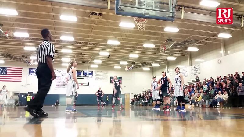 Lyman Hall Bristol Eastern girls basketball