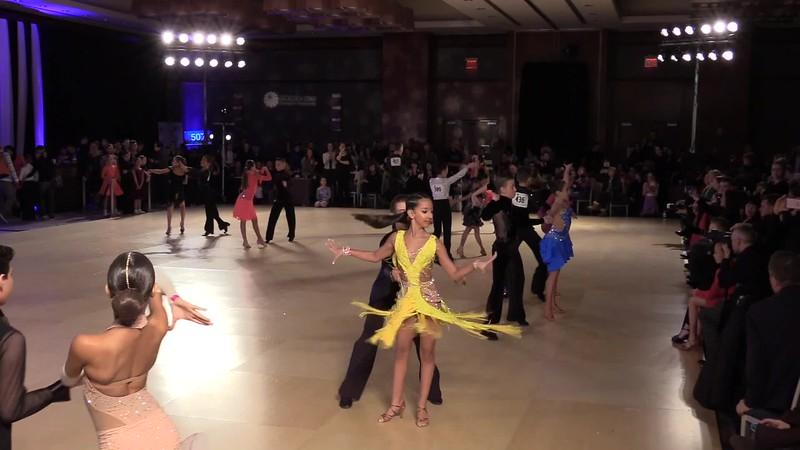 2017 Dance Golden Star Latin