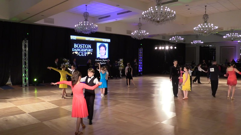 2018 Boston Cup DSC. Max and Sonya. Latin