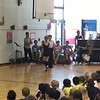 "Sonya and Max at  ""Talent show"" in Newton elementary school. (Max's shcool)"