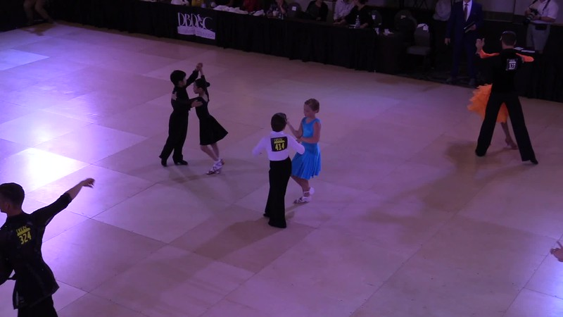 2017 DCDB. Sonya and Max. Latin