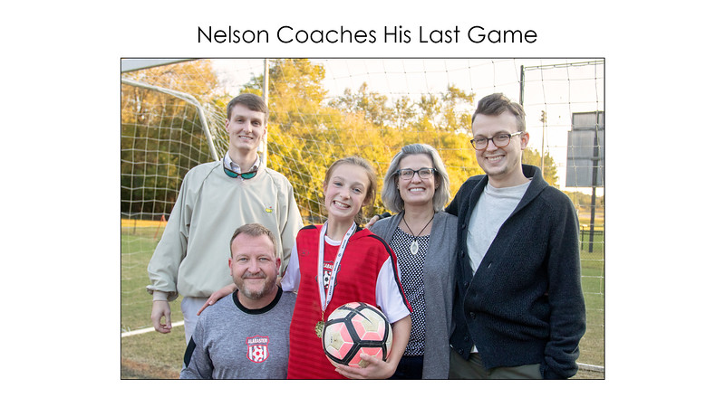Nelson Coaches His Last Game