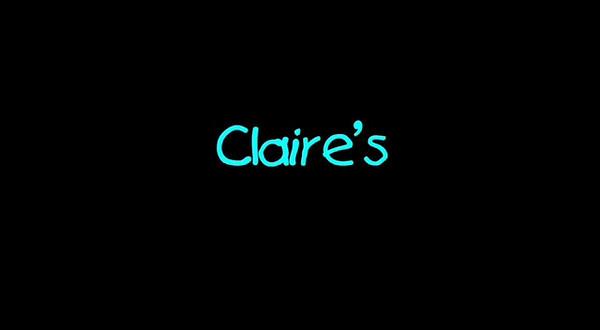 Claire's Baptism Service