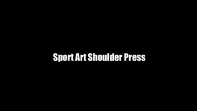 Sport Art Shoulder Press