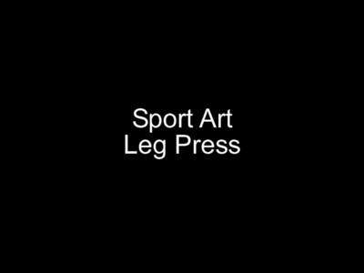 Sport Art Leg Press