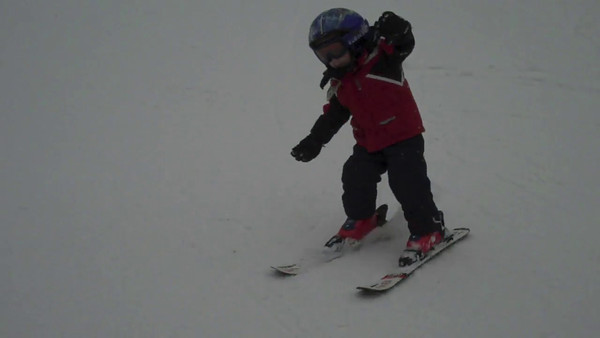 Skiing in Brighton, Utah