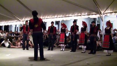 Thracian dance with daouli, Melbourne, FL  Greek Festival 2011