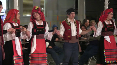 Three Thracian dances with daouli, 2013 (raw video.)
