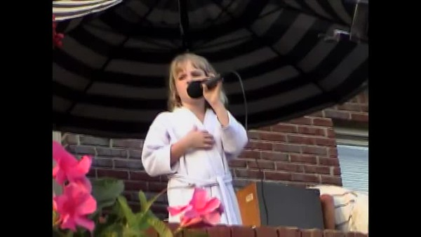 Emily Singing at Birthday Party Part 2