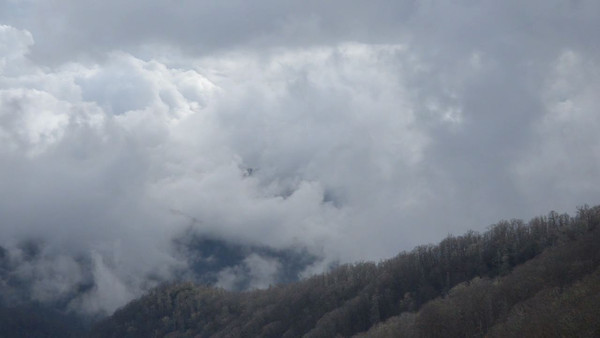 Mountain clouds - short time lapses from around Great Smoky Mountains National Park.