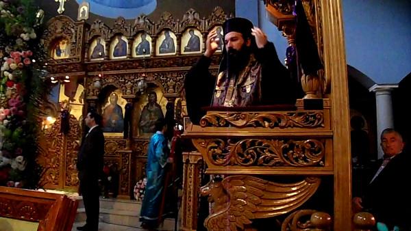 Sermon by Metropolitan Demetrius (Greek/English)