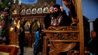 Sermon by Metropolitan Demetrius (Greek/English)