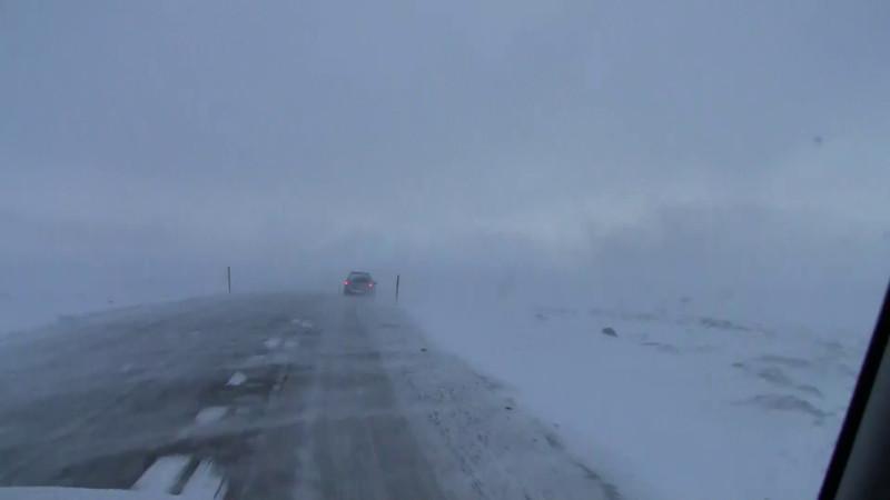 Winter Strom in Iceland