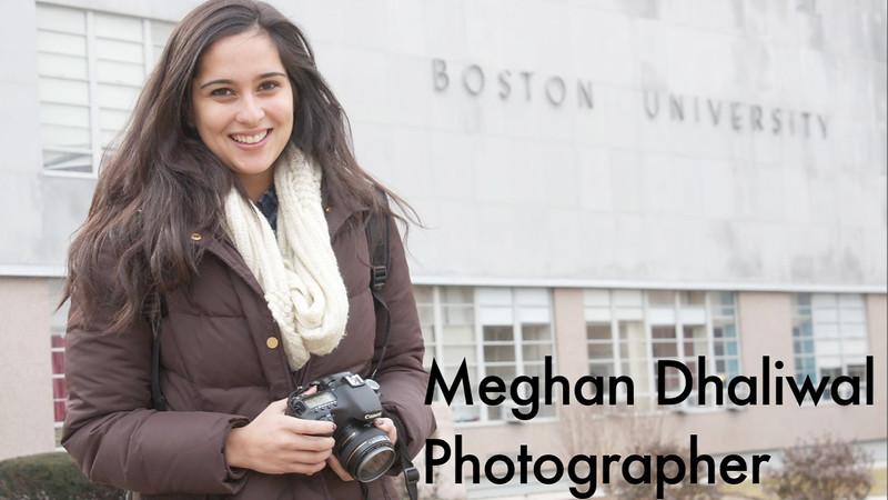 Student profile of Meghan Dhaliwal by Alessandra Harfkopf, Spring 2012, for JO515 Multimedia Journalism.