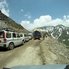 Going up Rohtang Pass