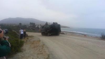US Marine Amphibious Assault Vehicles