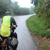 The downpour on the ride to Kiewkacham
