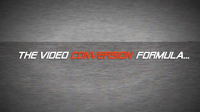 Video Conversion Formula