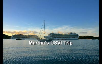 Martha's USVI Trip