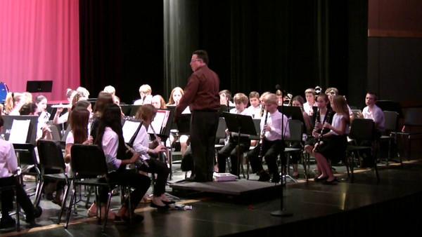 School band  5th grade   May 2014