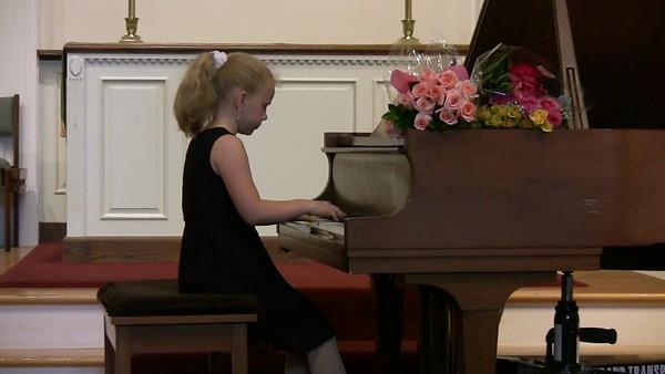 2016 Winter Allegretto piano studio. June 2016. Sonya Moiseyeva