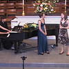 Sisters, Maurene and Kate Comey, singing a duet - William & Mary - Event Videography