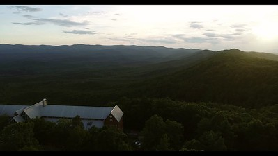 Amicalola State Park & Lodge at Dusk