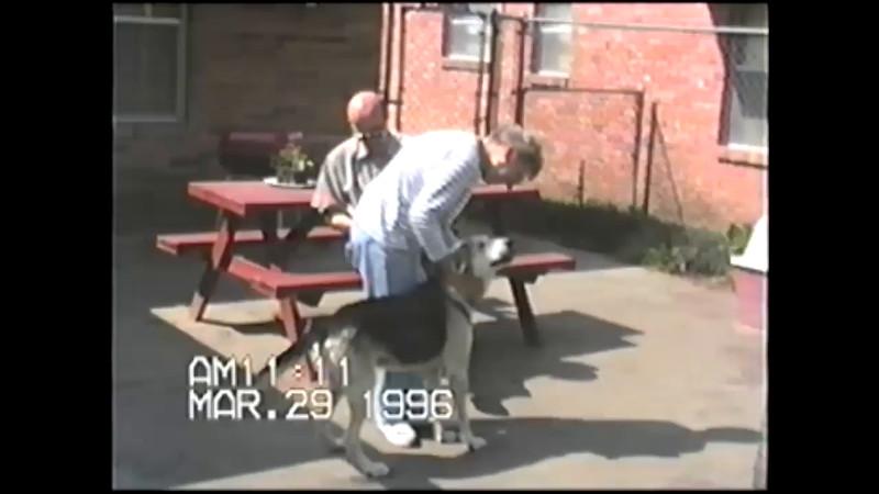 Mor Per Bente i Houston 1996