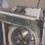 Removing the Tub in a Whirlpool Duet Washer