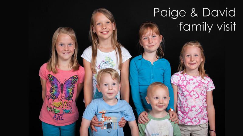 Paige & Family Visit