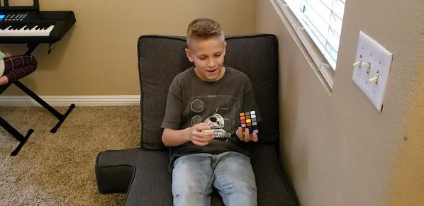 Blake Solving Rubik's Cube_mp4