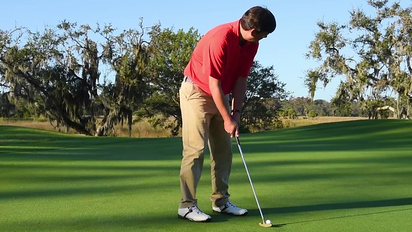 St Simons - Sea Island - Golf Putting