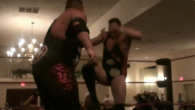 Danny DeManto with Angelina Love & Velvet Sky vs. Colt Cabana with Brittney Savage Part 2