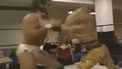 Daizee Haze vs. Rhett Titus with Billy Real & Reyna Fire