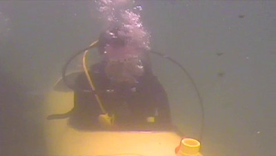 Footage of the first test dive in the Pacific.