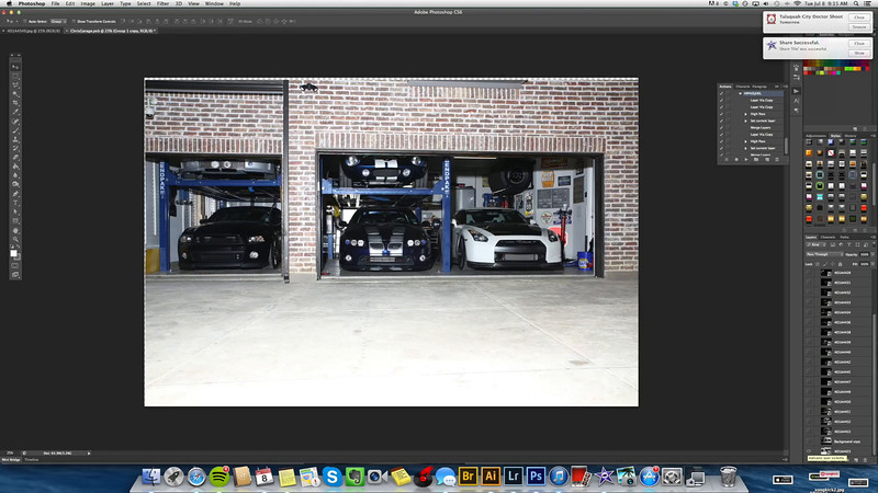 Chris's Garage | TimeLapse Post Process