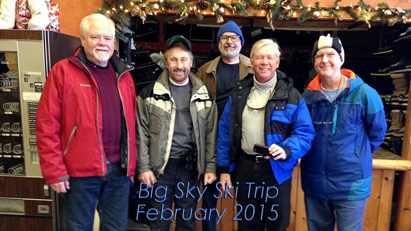 Big Sky Ski Trip