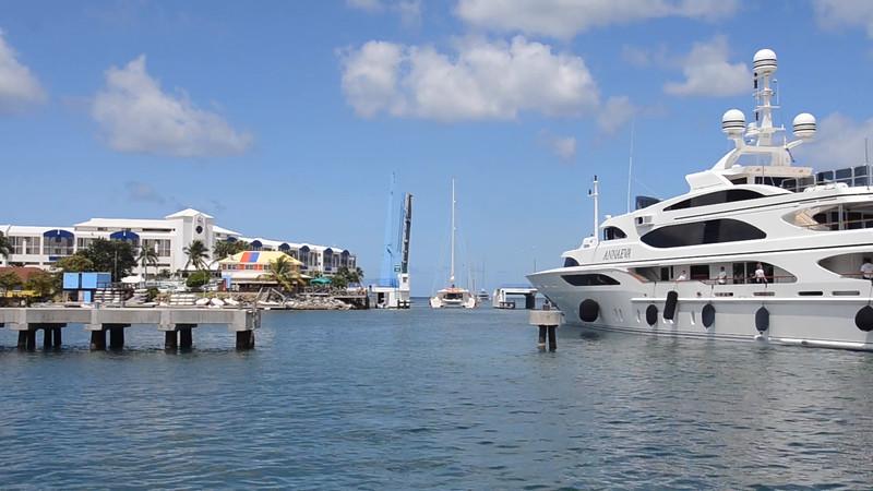 Sint Maarten Bridge Opening
