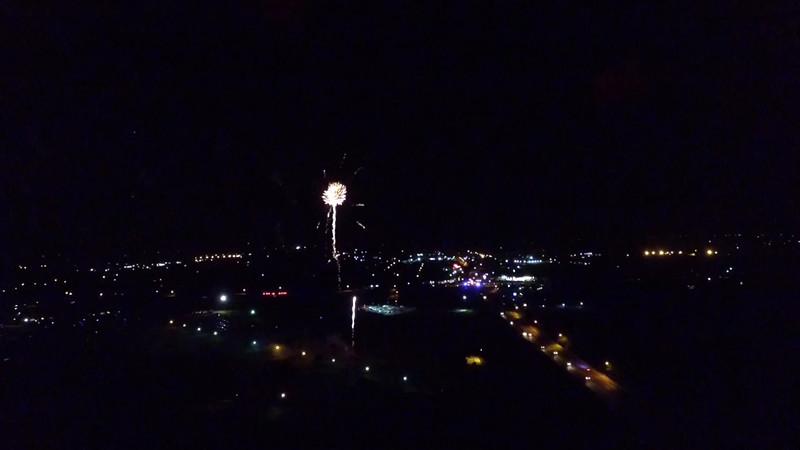 Stephenville Fireworks 2015