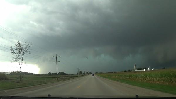 Rain Wrapped Tornado Hits Lucknow, Ontario. Avoiding Tornado, Getting Into The Core. September 7th.