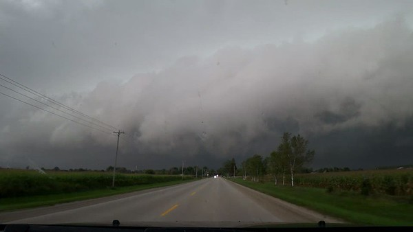Tornado Warned Supercell Embedded In Squall Line. September 7th, 2021